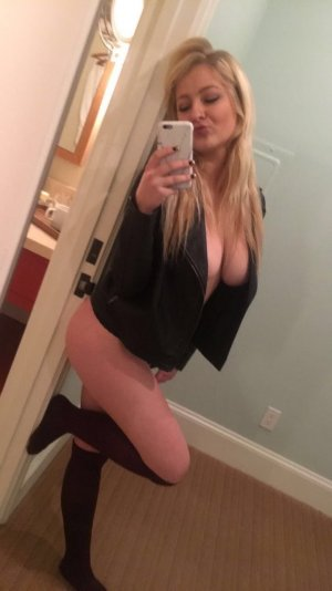Louciana escort girl in Tracy, massage parlor